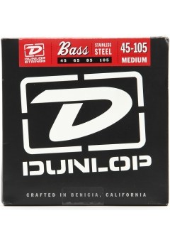 Dunlop Nickel Wound 4-String Bass String Set 45-105